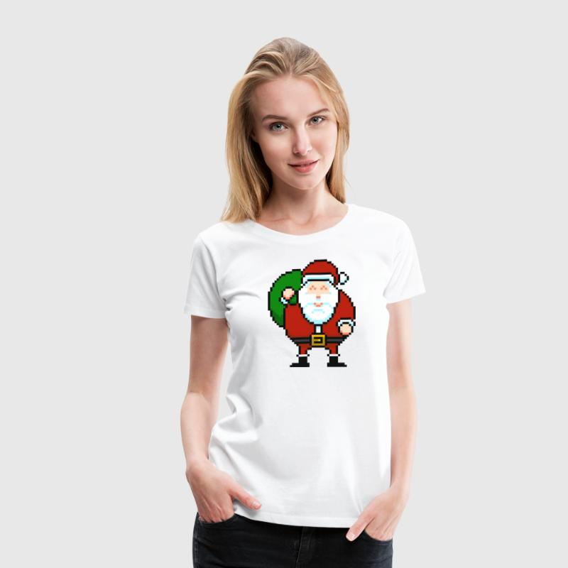 Santa Red - Women's Premium T-Shirt
