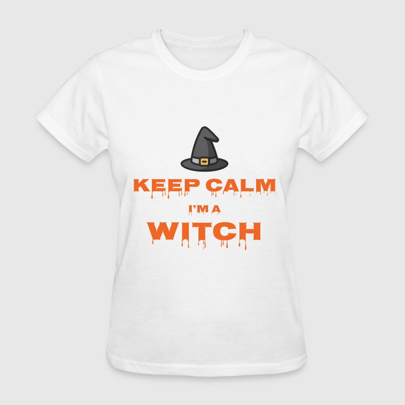 Keep Calm I'm a Witch T-Shirts - Women's T-Shirt