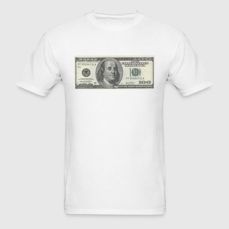One Hundred Dollar Bill ($100) - Men's T-Shirt