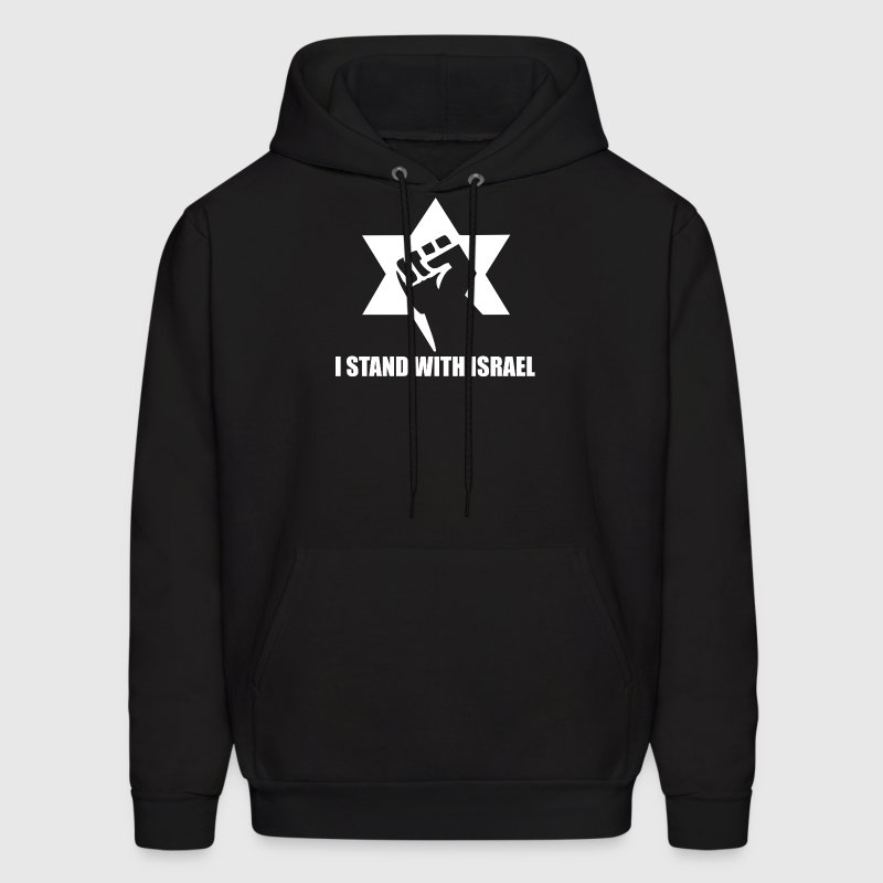 I Stand with Israel - Men's Hoodie