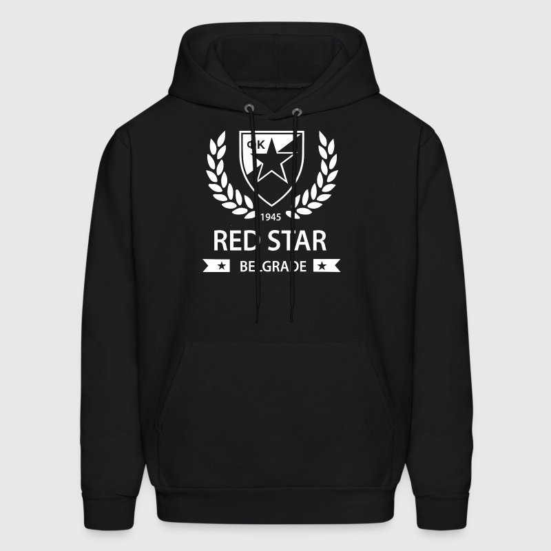 Red Star Belgrade Serbia Socer - Men's Hoodie