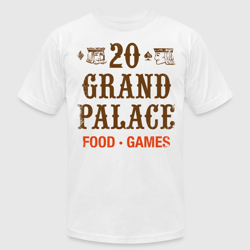 20 Grand Palace (pos.) T-Shirts - Men's T-Shirt by American Apparel