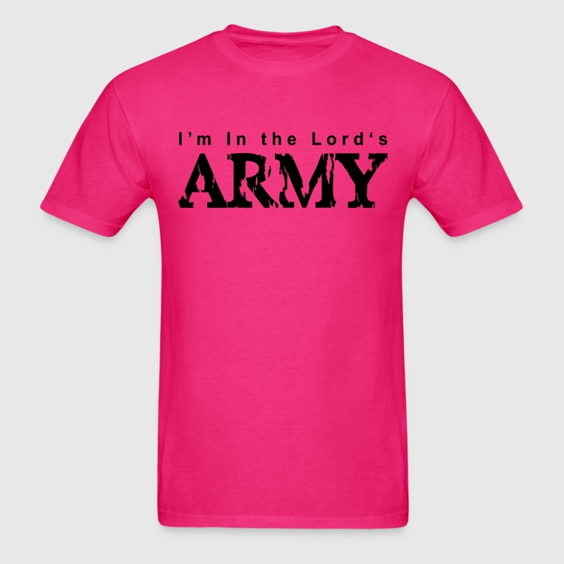 I'm in the Lord's Army - Men's T-Shirt