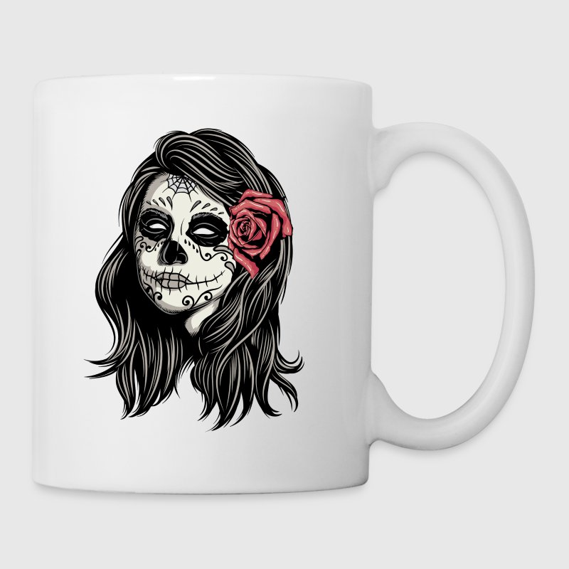 Santa Muerte Holy Woman Mugs & Drinkware - Coffee/Tea Mug