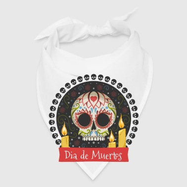 Sugar Skull - Day of the Dead #01 Phone & Tablet Cases - Bandana