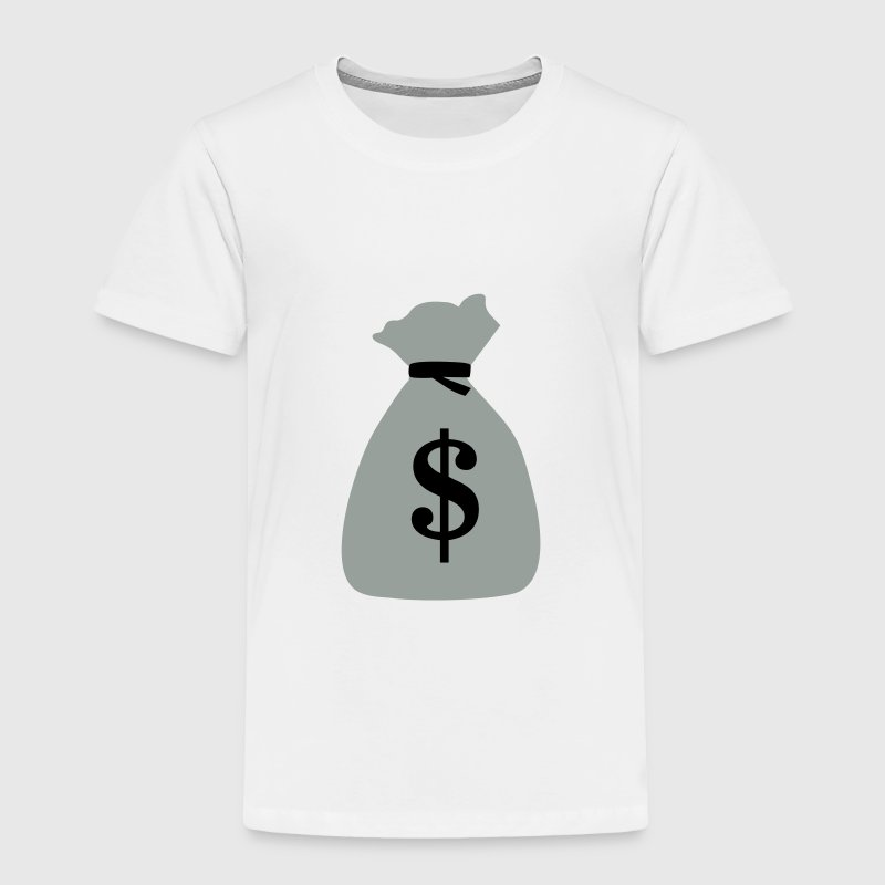 Money bag, bag of money, dollar Baby & Toddler Shirts - Toddler Premium T-Shirt