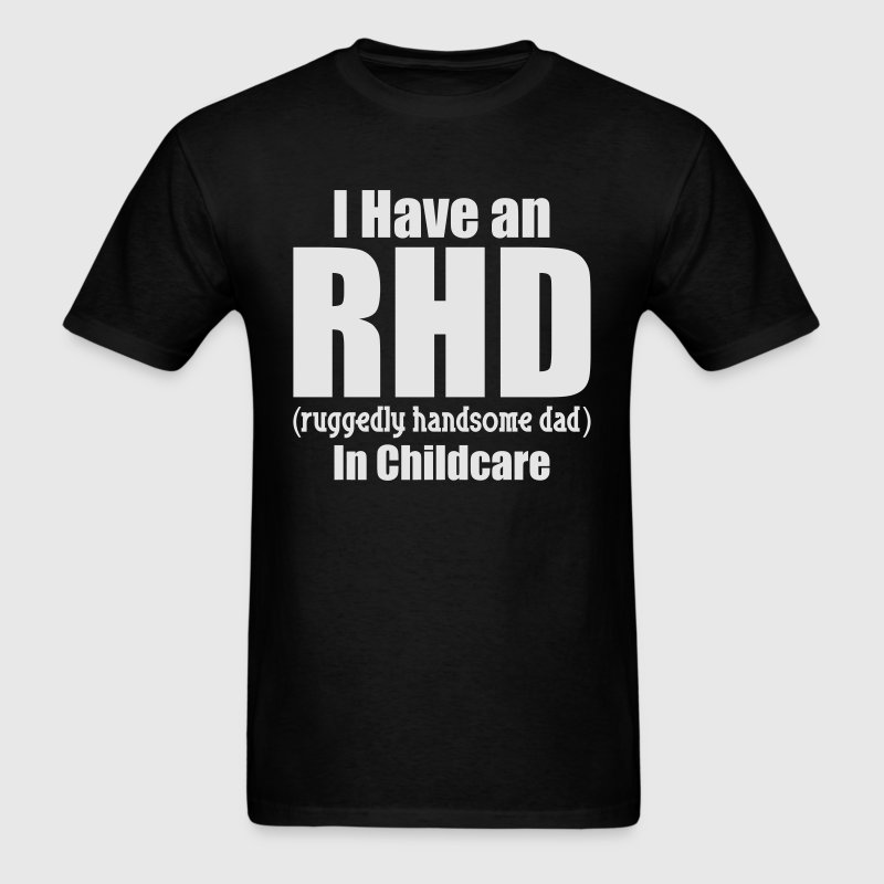 RHD IN CHILDCARE T-Shirts - Men's T-Shirt