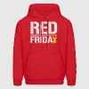 Red Friday Remember Everyone Deployed - Men's Hoodie