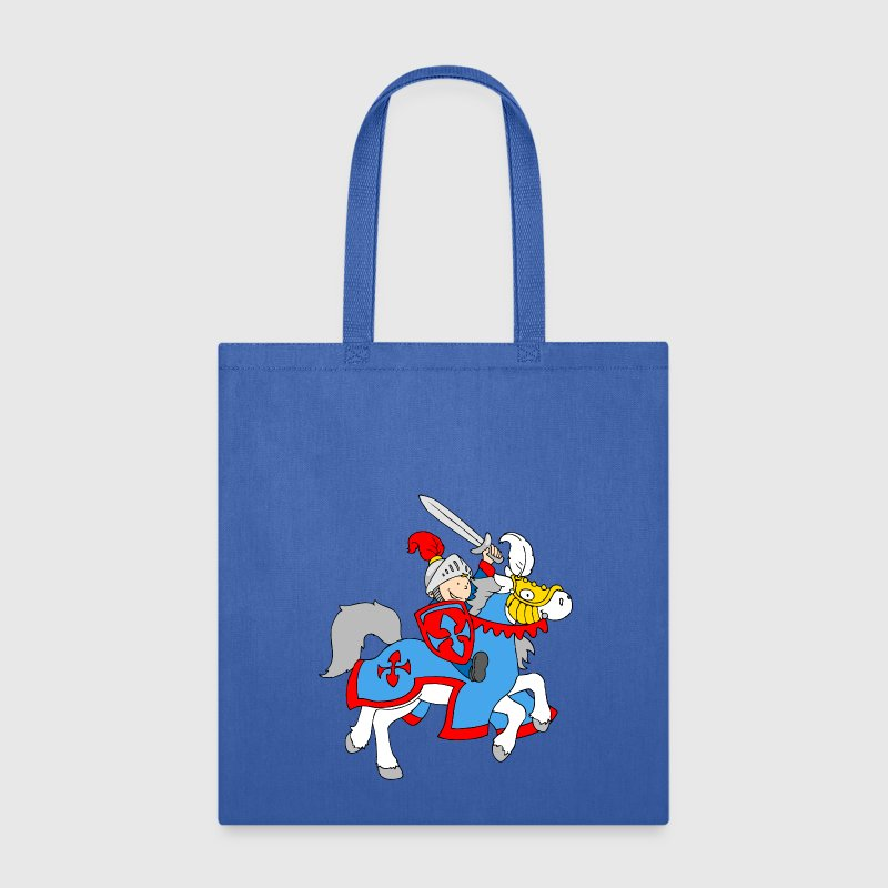 Boy Knight on a Horse Bags & backpacks - Tote Bag