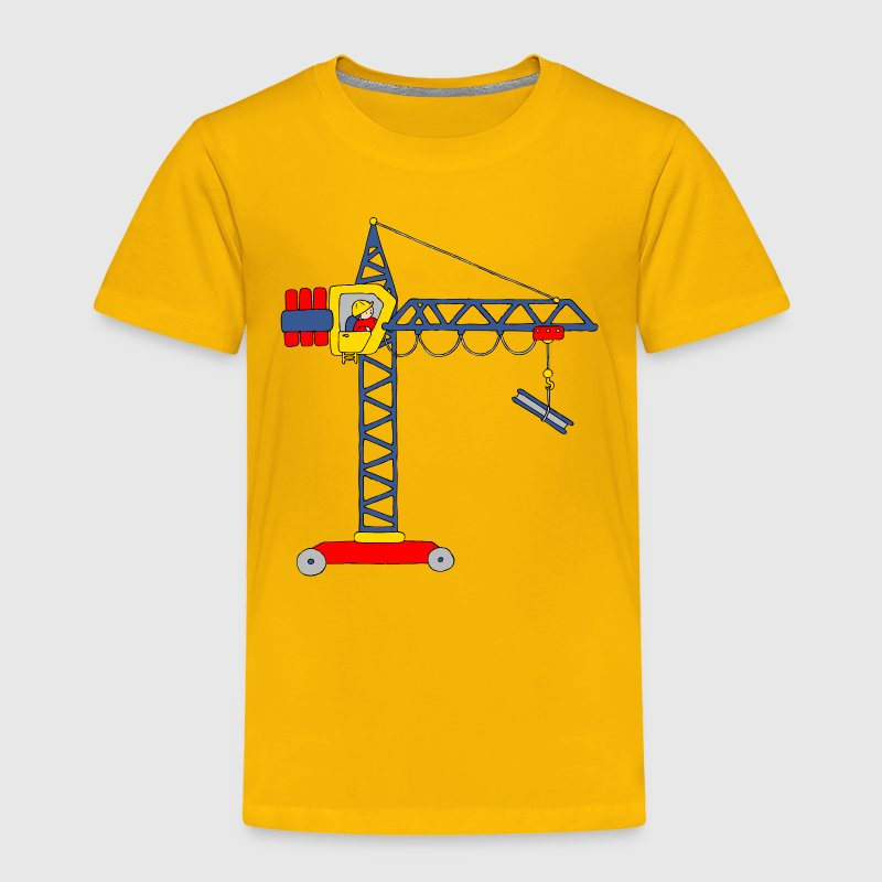 Tower Crane Baby & Toddler Shirts - Toddler Premium T-Shirt