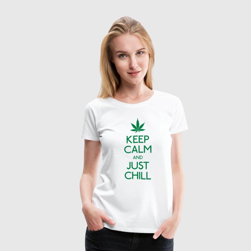 Keep Calm and just chill Women's T-Shirts - Women's Premium T-Shirt