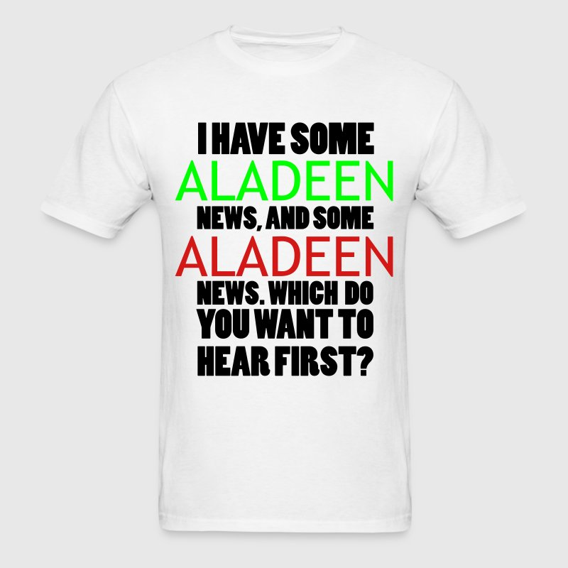 Aladeen News T-Shirts - Men's T-Shirt