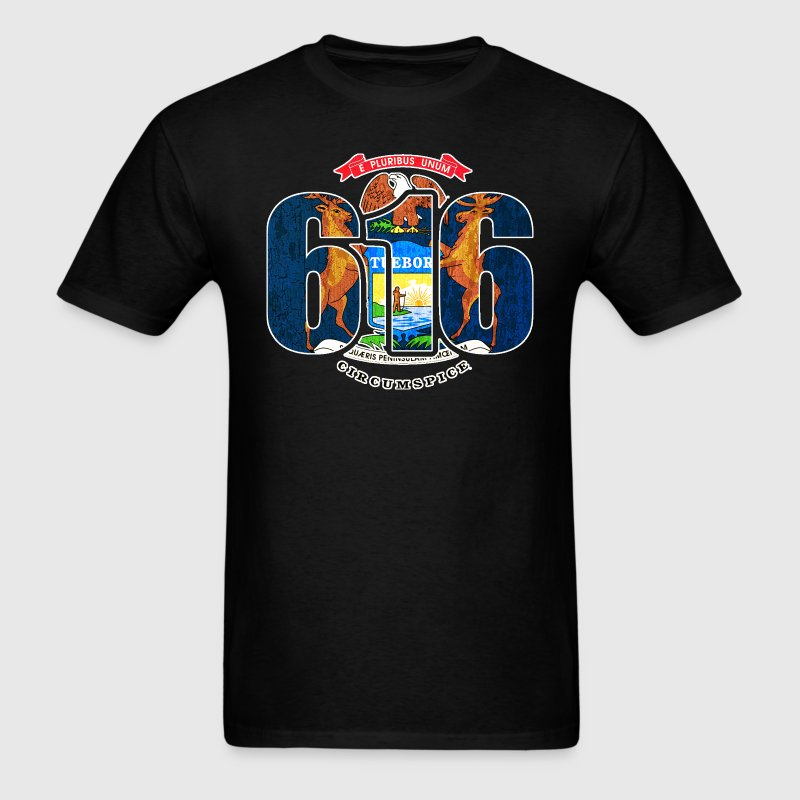616_mi_flagfw T-Shirts - Men's T-Shirt