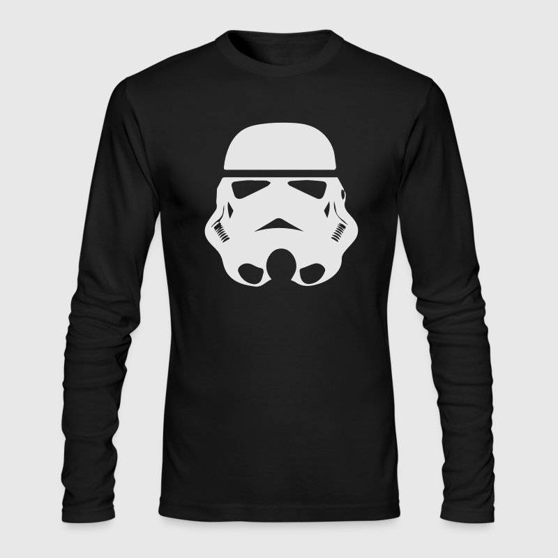 stormtrooper Long Sleeve Shirts - Men's Long Sleeve T-Shirt by Next Level