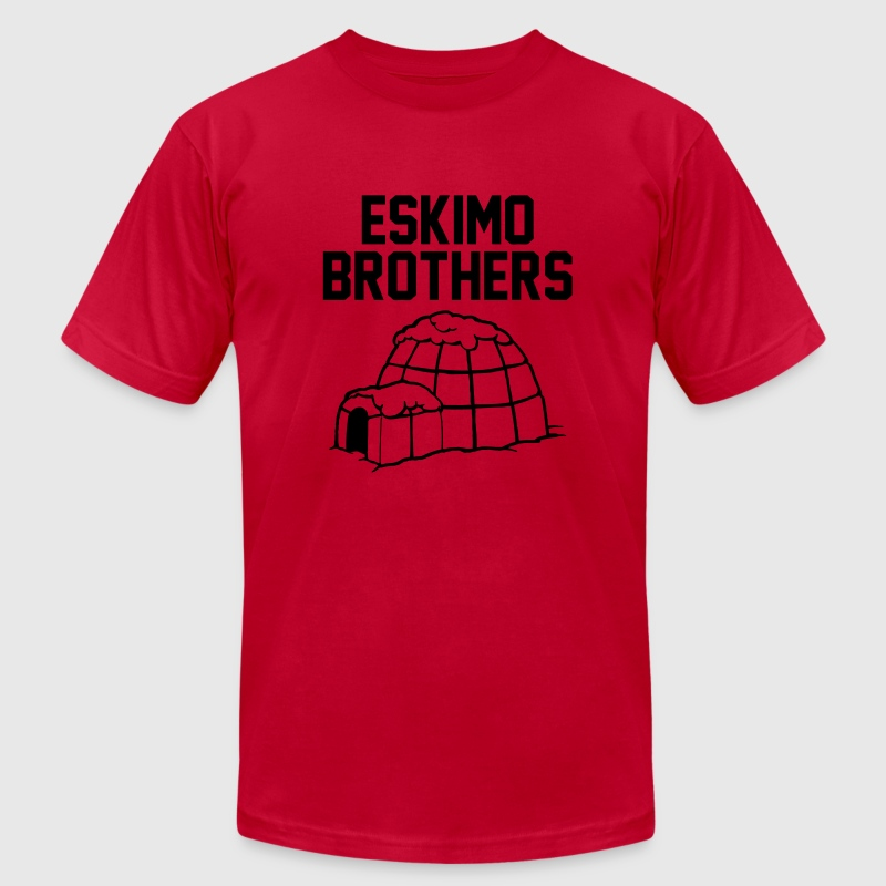Eskimo Brothers T-Shirts - Men's T-Shirt by American Apparel