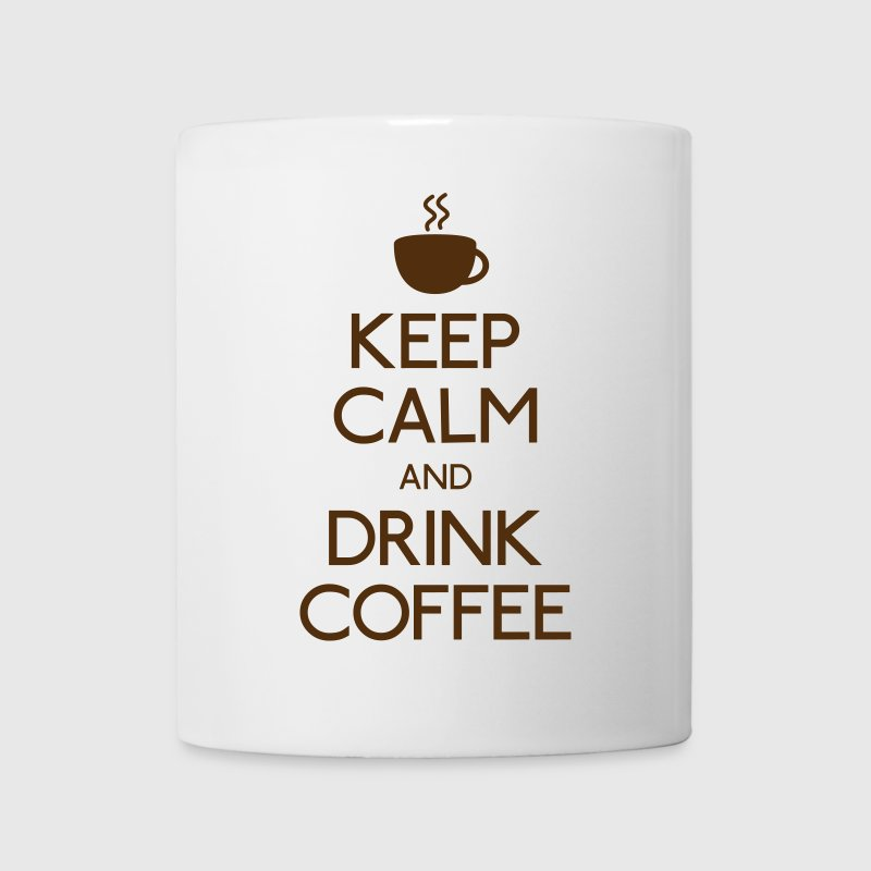 keep calm drink coffee Bottles & Mugs - Coffee/Tea Mug