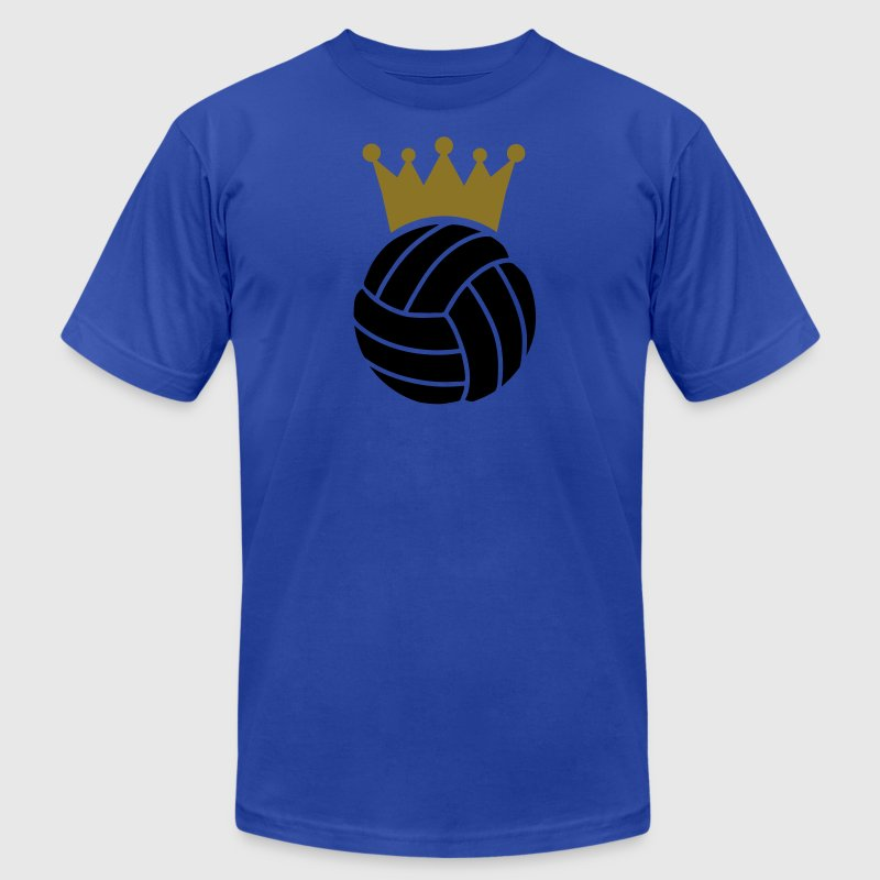 Volleyball King T-Shirts - Men's Fine Jersey T-Shirt