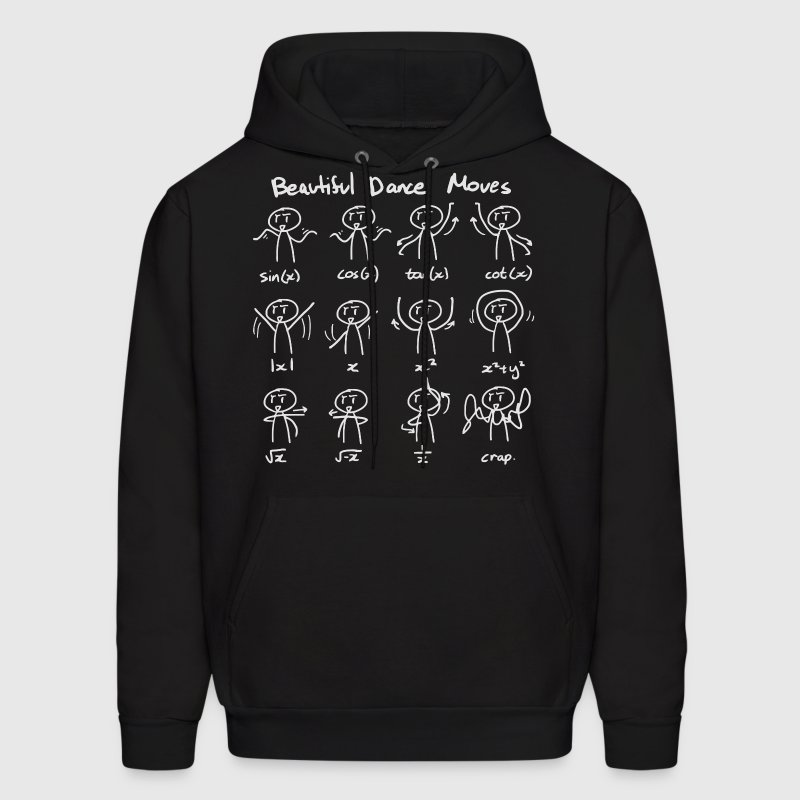 Beautiful Math Dance Moves Hoodies - Men's Hoodie