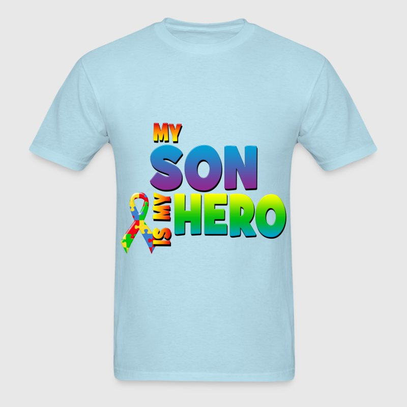 My Son Is My Hero T-Shirts - Men's T-Shirt
