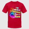 I'm Rockin' A Puzzle For My Son T-Shirts - Men's T-Shirt by American Apparel