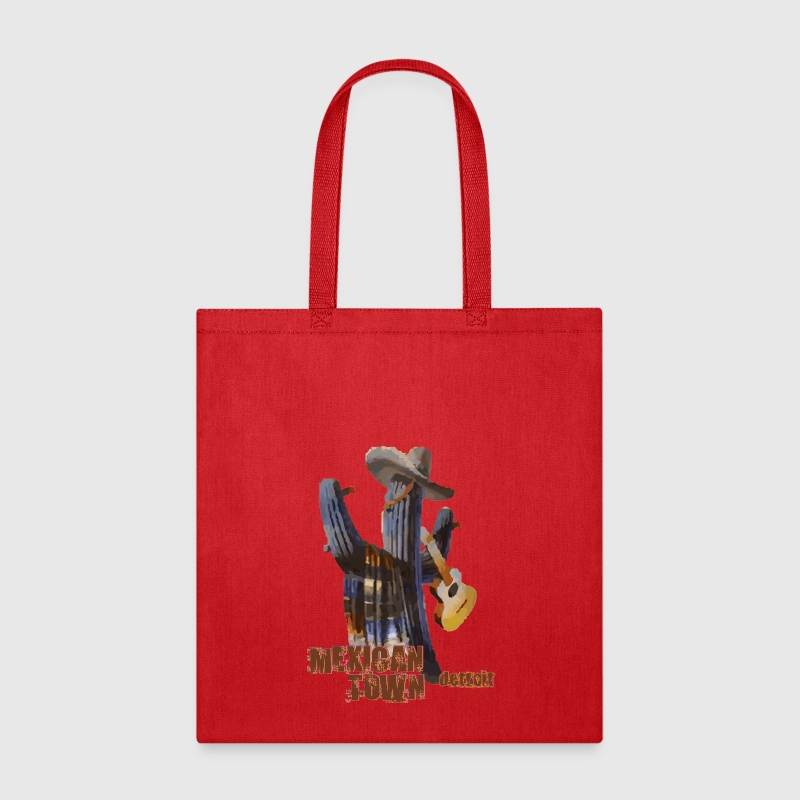 Mexican Town Detroit Cactus Bags & backpacks - Tote Bag