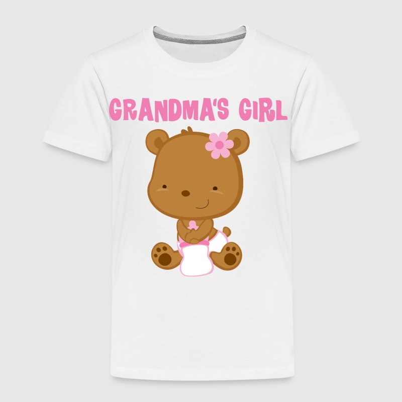 Grandma Girl Kids' Shirts - Toddler Premium T-Shirt