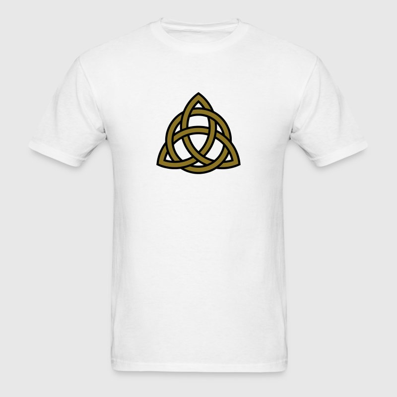 Irish Trinity Knot Triquetra Celtic Patricks Day T-Shirts - Men's T-Shirt