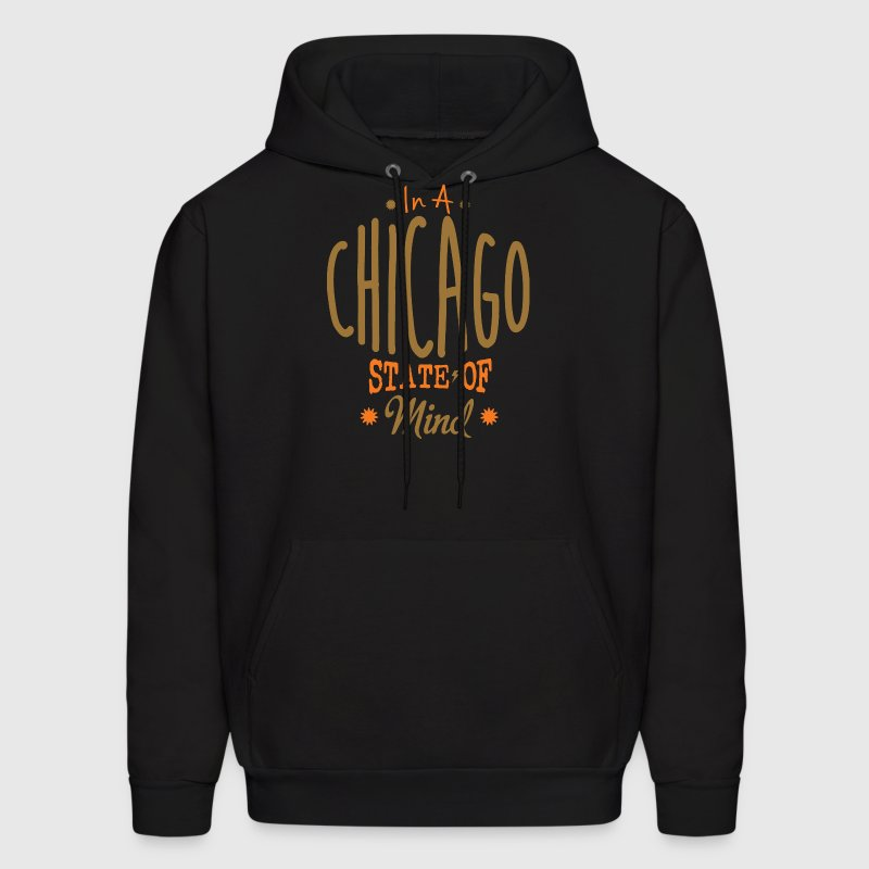 Chicago State of Mind Apparel Clothing  Hoodies - Men's Hoodie