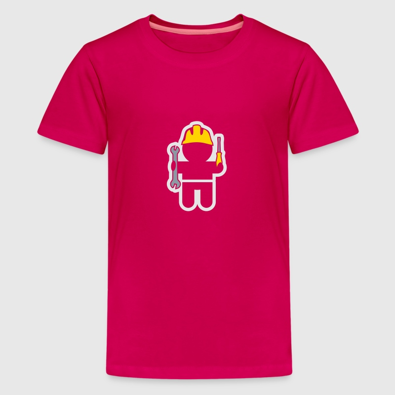 careers and professions: the locksmith Kids' Shirts - Kids' Premium T-Shirt