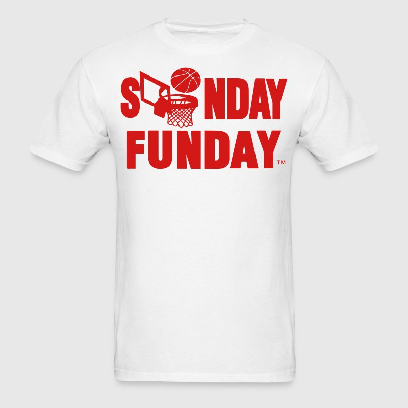 SUNDAY FUNDAY BASKETBALL - Men's T-Shirt