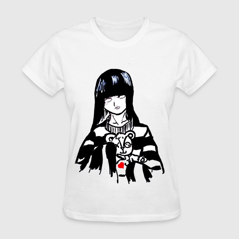 goth girl - Women's T-Shirt