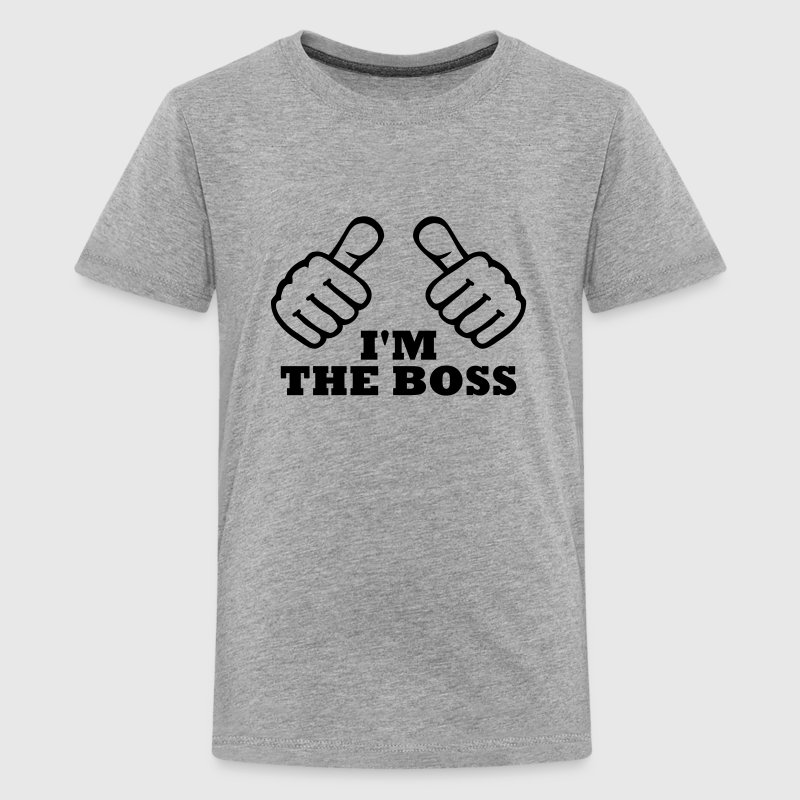 I'm the Boss Kids' Shirts - Kids' Premium T-Shirt