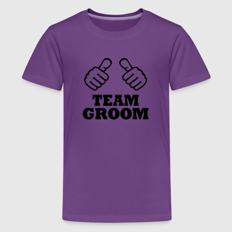 Team Groom Kids' Shirts - Kids' Premium T-Shirt