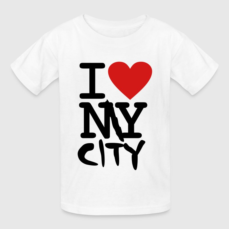 I Love My City - Kids' T-Shirt
