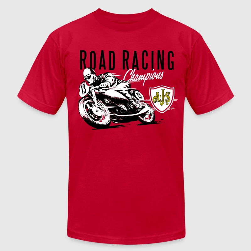 road racing T-Shirts - Men's T-Shirt by American Apparel