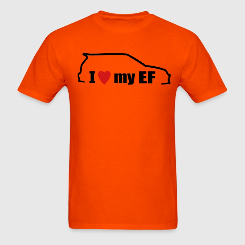 I Love My Ef - Men's T-Shirt