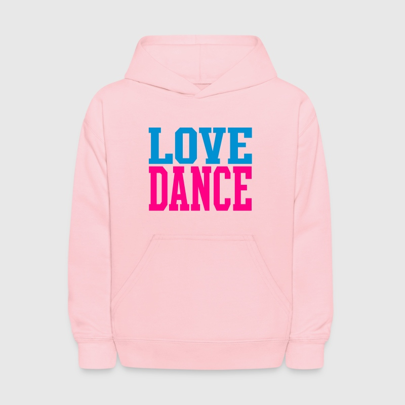 Love Dance Dual Color Sweatshirts - Kids' Hoodie