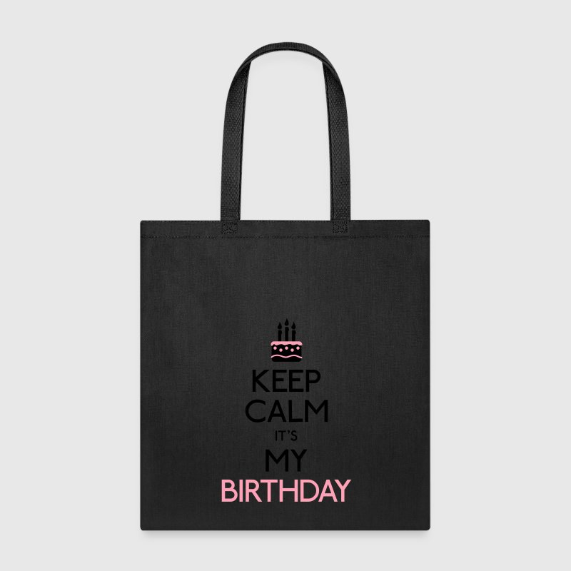 keep calm birthday Bags & backpacks - Tote Bag