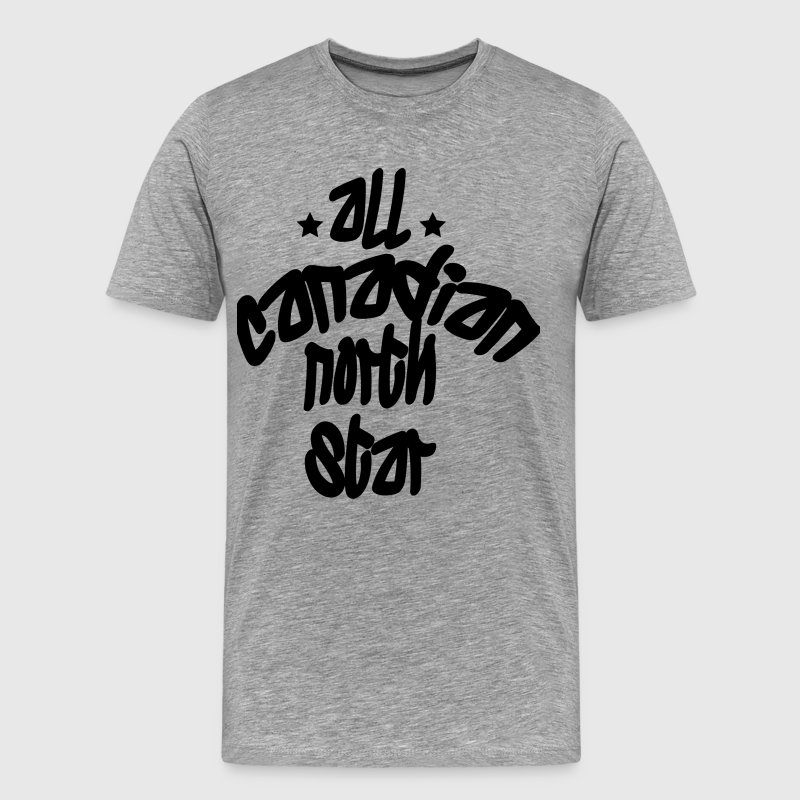 All Canadian North Star T-Shirts - Men's Premium T-Shirt