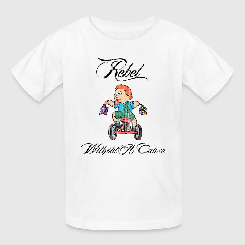 Tricycle Rebel Without A Cause Vintatage - Kids' T-Shirt