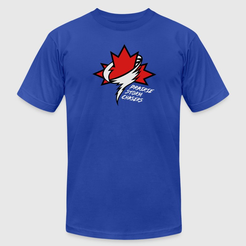 Prairie Storm Chasers Original Logo T-Shirts - Men's T-Shirt by American Apparel