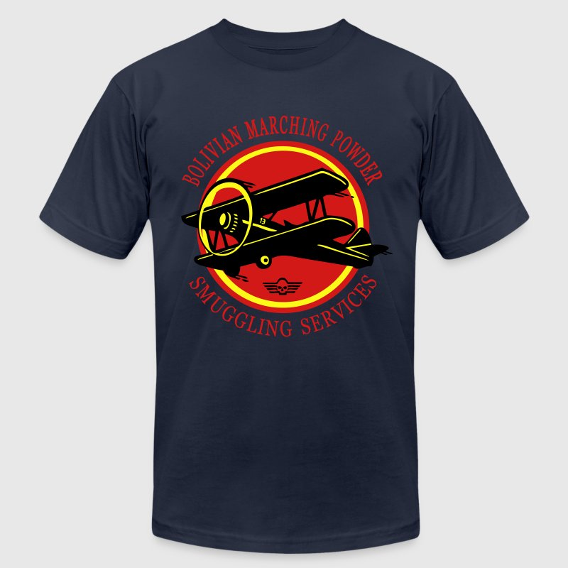 bolivia airlines - Men's T-Shirt by American Apparel