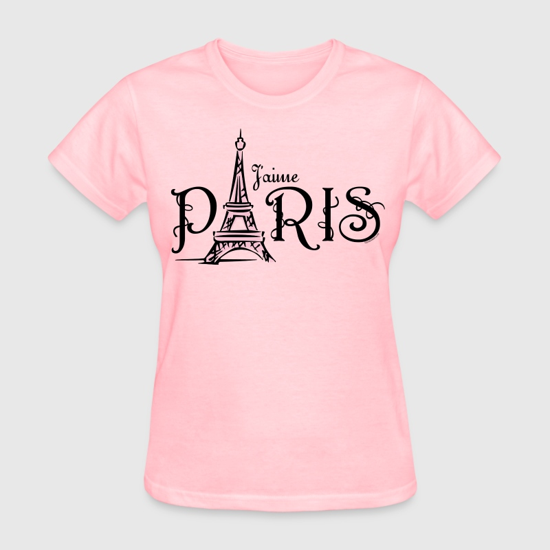 J 39 aime paris t shirt spreadshirt for How to design and sell t shirts
