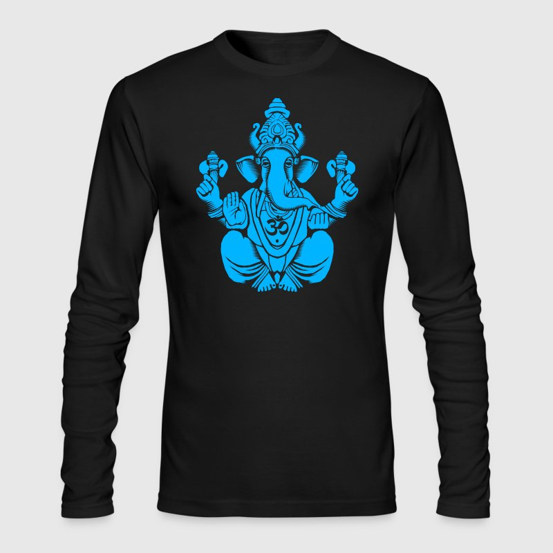 Blue Ganesh Long Sleeve Shirts - Men's Long Sleeve T-Shirt by Next Level