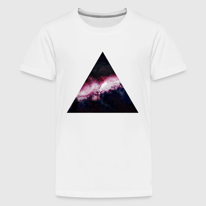 triangle galaxy Kids' Shirts - Kids' Premium T-Shirt