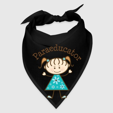 Paraeducator Stick Figure Bags & backpacks - Bandana