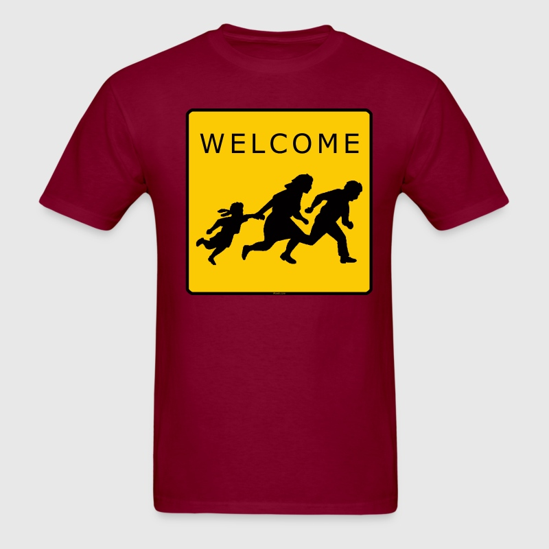 Welcome T - Men's T-Shirt