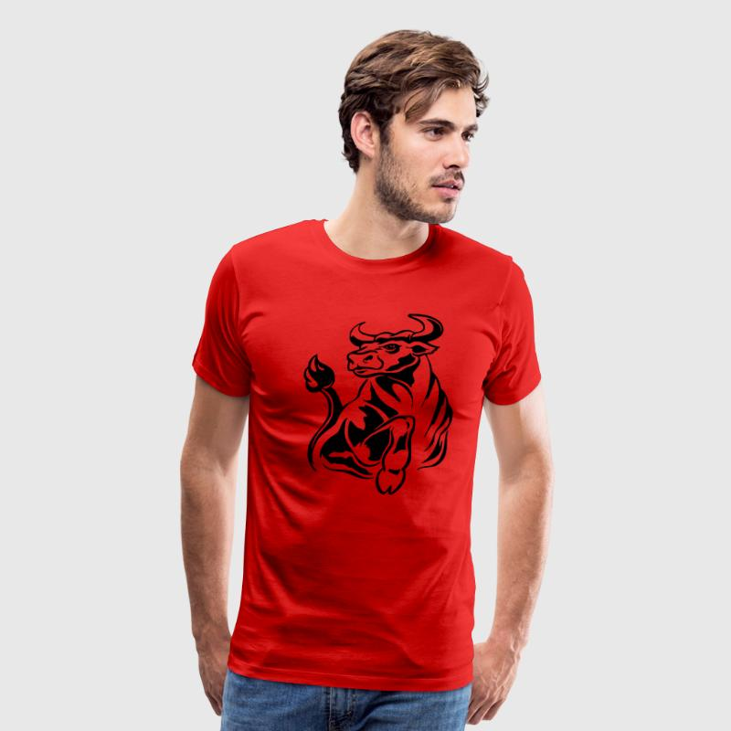 Tribal Bull - Men's Premium T-Shirt