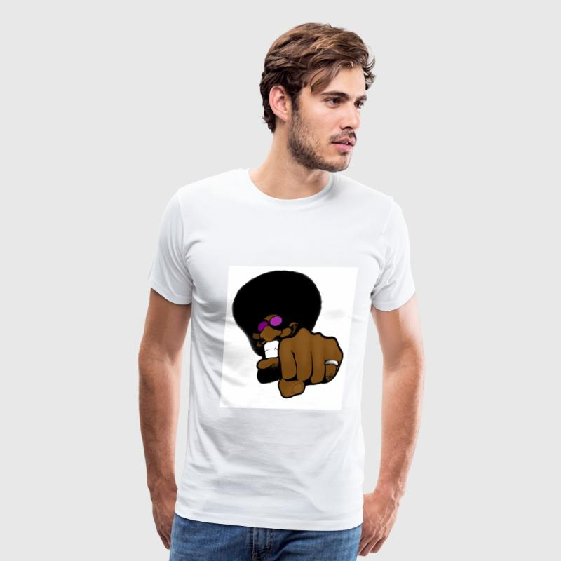 SuperBlack - Men's Premium T-Shirt