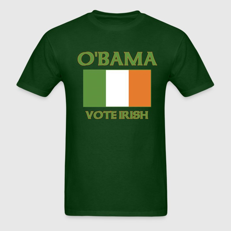 Obama Vote Irish t shirt - Men's T-Shirt
